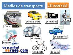¿Qué medio de transporte utilizas?