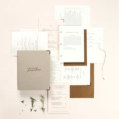 Trentina restaurant identity design by Christine Wisnieski / translates the intimately opulent dining experience at northern Italian restaurant Trentina into an elegant and expressive menu suite with bold, yet delicate, details