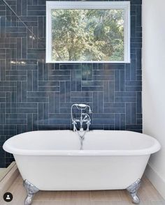 21 Stylish Ways To Lay Subway Tiles • One Brick At A Time Chevron Bathroom, Bathroom Accent Wall, Modern Bathroom Tile, Bathroom Accents, Bathroom Renos, Bathroom Interior Design, Bathroom Feature Wall Tile, Bad Inspiration, Bathroom Inspiration