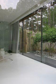 studio k - nooz uniek ontspannen grobbendonk 2008-2010 (glazen paviljoen, outdoor sleeping, amelanchier, leisteen, witte keien, ontspannen, bamboe)
