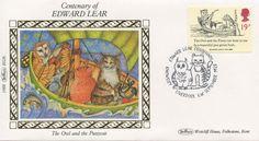 Edward Lear Centenary Commemorative Stamps, 1988