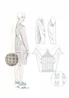 Fashion Sketchbook - fashion illustration; fashion portfolio // Caroline Sheraton