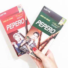 聽說很好吃 還不錯啦 #EXO#pepero#pocky#love#food