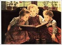 The Fairy Tale Art Poster Print by Sir Walter Firle - my husband gave me this framed print when I was in college Framed Art Prints, Poster Prints, Framed Canvas, Canvas Prints, Irish Culture, Vintage Fairies, Fairytale Art, Kids Poster, Vintage Posters