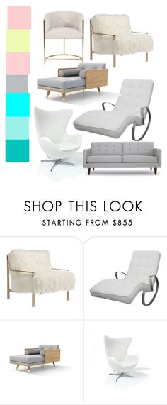 """chairs and sofass"" by joliebarnes1 on Polyvore featuring interior, interiors, interior design, home, home decor, interior decorating, Axel, Rove Concepts and Joybird"