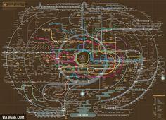 Metro network Tokio