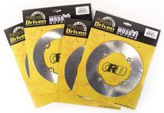 2014 2015 Can-Am Maverick 1000 R 4x4 XMR Front and Rear MudRat Brake Rotor Discs, mud