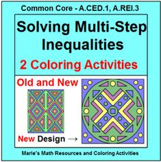 Triangles exterior angle sum theorem 1 coloring activity