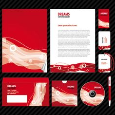 Branding Design Package for Entertainment Company