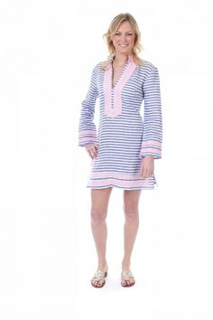 All Aboard striped tunic