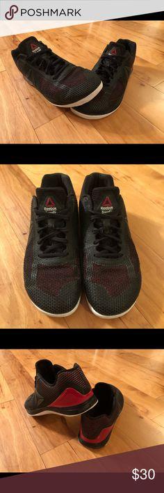 Reebok Men s Size 11 Black Red Crossfit Shoes 47ffa5f90