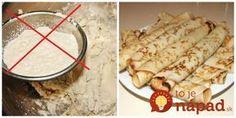 Nahraďte múku touto lacnou surovinou a nebudete sa stačiť diviť, čo sa stane s vaším telom a zdravím + Top recepty! Vegan Recipes, Good Food, Paleo, Food And Drink, Sweets, Bread, Cooking, Ethnic Recipes, Fitness