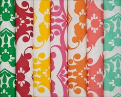 Swooning over this fabric from Tobi Farley