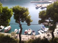 the harbour at Patitiri