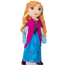Frozen Singing Anna Cuddle Pillow Doll 25  For the First Time in Forever *** Want to know more, click on the image.