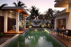 Royal Pavilion with Pool at The Samaya Seminyak, #Bali. Perfect for couples seeking quiet and privacy.