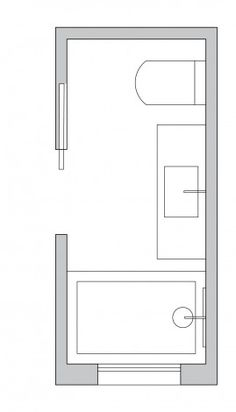 Small Bathroom Layout Ideas From An Architect To Optimize Space [Small Bathroom Ideas, Small Bathroom Remodel, Bathroom Layout, Bathroom Floor Plans, Bathroom Design] BathroomDesign BathroomIdeas BathroomRemodel Bathroom Layout Plans, Small Bathroom Layout, Bathroom Design Layout, Bathroom Interior Design, Layout Design, Design Ideas, Small Bathroom Floor Plans, Bath Design, Bathroom Designs