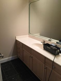 From Boring Bathroom to Live Edge Excitement