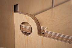 Kerf wall storage bin | Fit