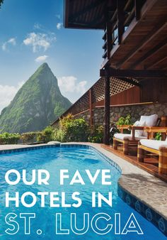 Lucia is the definition of castaway chic, packed with topnotch cliff-side resorts scattered around the always-camera-ready twin Pitons. lucia honeymoon The Best Hotels in St. Lucia We Can't Wait to Check Into Vacation Places, Italy Vacation, Vacation Trips, Dream Vacations, Vacation Spots, Places To Travel, St Lucia Honeymoon, Caribbean Honeymoon, Best Honeymoon