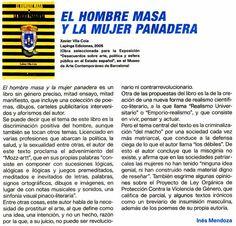 Reseña en la revista universitaria Generación xxi (1.ª quincena de abril de 2005)