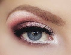 blue, cool, eye, fashion - inspiring picture for eyes make up