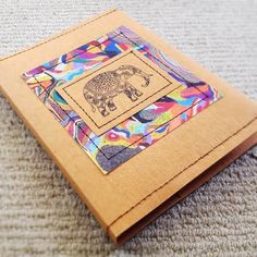 Paisley and Brown Paper: The Kraft-Tex Fabric Paper Experiment