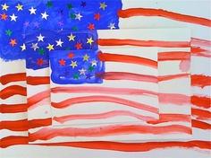 Kids Art Market: Pattern Flags with Jasper Johns