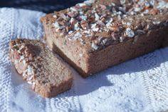 Paleo Pan de Calabacín ~ Paleo Zucchini Bread       #food #realfood #recipe