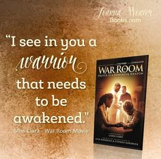 """It's time to learn how to fight right - using the weapon of prayer!  """"War Room & Armor of God: Bible Study Review"""" http://joannaweaverbooks.com/2016/04/06/war-room-armor-of-god-bible-study-review/"""