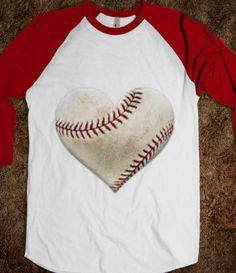 heart, baseball, love - Glitter - Skreened T-shirts, Organic Shirts, Hoodies, Kids Tees, Baby One-Pieces and Tote Bags