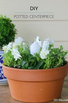 How to make an Outdoor Table Centrepiece
