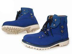 Timberland Mens Custom 6Inch Boots-Blue description