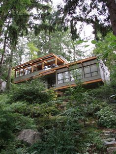 Exterior Midcentury Modern Houses Design, Pictures, Remodel, Decor and Ideas - page 11