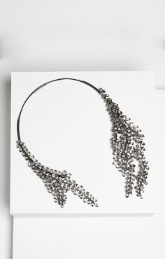 Asymmetric Stone Collar Necklace