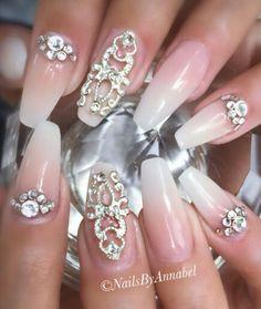 Ombre nails design