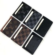 Louis Vuitton Card Holder Genuine Leather Card HoldersImported fabric, symmetrical card holders 1 ID, driver's license compartment availableSize: cm My Wallet, Card Wallet, Card Case, Lv Handbags, Louis Vuitton Handbags, Mens Card Holder, Card Holders, Louis Vuitton Mens Wallet, Lv Men