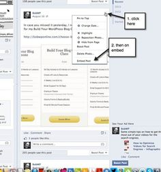 How To Embed a Facebook Post Into a WordPress Post or Page