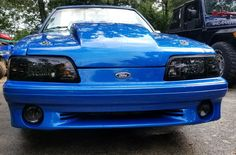 1990 Mustang LX Hatchback With GT front bumper Blue Mustang, Fox Body Mustang, Mustang Cars, Sexy Cars, Muscle Cars, Tools, Lifestyle, Vehicles, Ideas