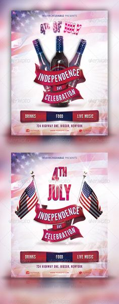 Military Patriot Day Flyer Patriots, Patriots day and Flyers - independence day flyer