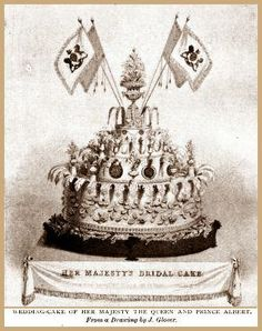 Wedding Cake of Her Majesty the Queen and Prince Albert, February 10, 1840.