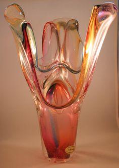 Adam Jablonski 'Lily' Coloured Glass Ornaments