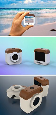 It's the world's first, small, ultra-portable camera specifically focused on creating and capturing great content for Instagram.
