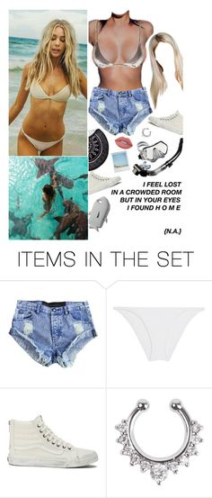 """""""On an island in the sun we'll be playing and having fun and it makes me feel so fine I can't control my brain"""" by ddoylee ❤ liked on Polyvore featuring art"""