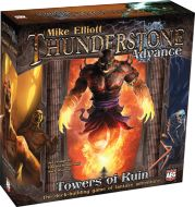Thunderstone Advance Towers of Ruin Fantasy Adventure Card Game for sale online Building Games, Building A Deck, Dinner Box, Dice Tower, Up Theme, Strategy Games, Family Game Night, Tabletop Games, Box Art