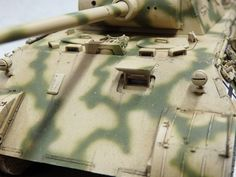 Camouflage Patterns, Tiger Tank, Model Tanks, Panzer, Model Kits, Model Building, Armors, Hobbies And Crafts, Painting Techniques