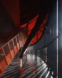 Zenith music hall by architects Massimiliano and Doriana Fuksas has opened in Strasbourg, France. Dezeen, Stairways, Architecture, France, Interior Design, Studio, Gallery, Building, Pictures