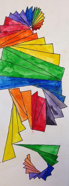Art Room Blog: 5th Grade Color Wheel.....