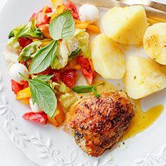 Pieczone udka kurczaka   Kwestia Smaku