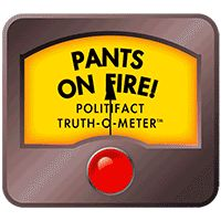 Pants on Fire! - An extreme false statement: Sort order: 6